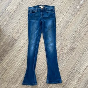 Dittos Skinny Flare Mid Rise Jeans